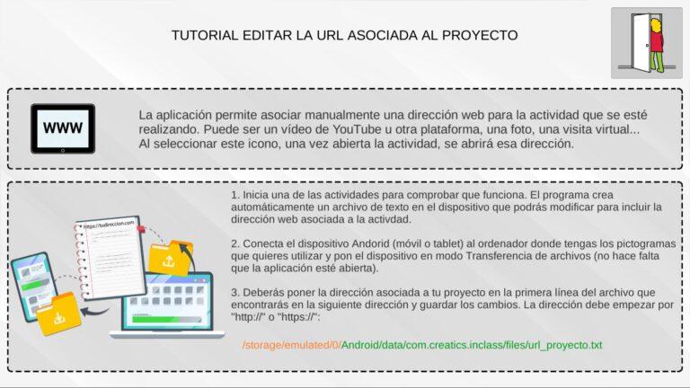 Editar URL del proyecto