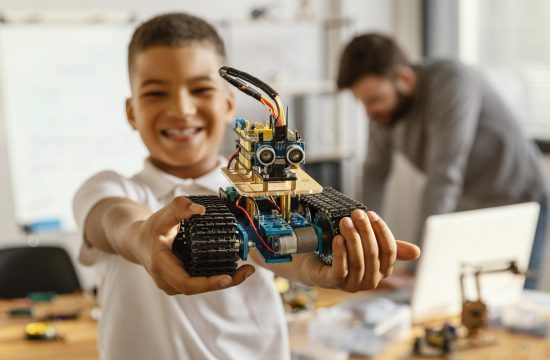 father-and-son-making-robot